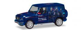 herpa 094757 Mercedes-Benz G-Klasse Polizei Österreich PR-Fahrzeug Automodell Spur H0 online kaufen