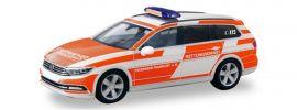 herpa 094955 VW Passat Variant B8 Feuerwehr Frankfurt am Main Blaulichtmodell 1:87 online kaufen