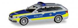 herpa 095006 BMW 5er Touring G31 Autobahnpolizei NRW Blaulichtmodell 1:87 online kaufen