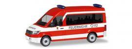 herpa 095013 VW Crafter Bus HD MTW Feuerwehr Nürnberg Neunhofen Blaulichtmodell 1:87 online kaufen