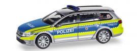 herpa 095020 VW Passat Variant GTE B8 Polizei Hessen Blaulilchtmodell 1:87 online kaufen