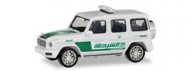 herpa 095082 Mercedes-Benz G-Klasse Polizei Dubai Blaulichtmodell 1:87 online kaufen