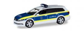 herpa 095099 VW Passat B8 Variant GTE Zoll Blaulichtmodell 1:87 online kaufen