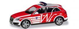 herpa 095174 Audi Q5 Einsatzleitwagen Feuerwehr Wiesbaden Blaulichtmodell 1:87 online kaufen