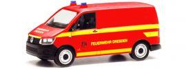 herpa 095433 VW T6 Kasten FW Dresden | Blaulichtmodell 1:87 online kaufen