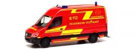 herpa 095457 MB Sprinter 13 Kasten FW Stuttgart | Blaulichtmodell 1:87 online kaufen
