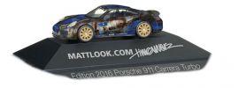 herpa 101981 Porsche 911 Turbo Mattlook Edition 3 Automodell 1:87 online kaufen
