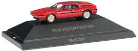 herpa 102025 BMW M1 rot History Edition | Automodell 1:87 online kaufen