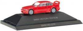 herpa 102056 BMW M3 GTR rot History Edition | Automodell 1:87 online kaufen