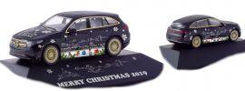 herpa 102155 Mercedes-Benz EQC AMG Herpa Weihnachts-PKW 2019 Automodell Spur H0 online kaufen