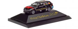 herpa 102162 BMW 3er Touring Herpa Weihnachts-PKW 2020 | Automodell 1:87 online kaufen