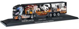 herpa 121637 Volvo FH 16 GL XL KühlkofferSzg Johnny Cash/Gesuko LKW-Modell 1/87 online kaufen