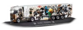 herpa 121903 Scania CS20 HD Kühlkoffersattelzug Heide Logistik Lionheart PC LKW-Modell 1:87 online kaufen