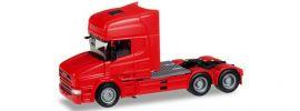 herpa 151726-005 Scania Hauber Topline Solozugmaschine 3achs feuerrot LKW-Modell 1:87 online kaufen