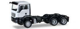 herpa 158305-005 MAN TGS M Allrad-Solozugmschine weiss LKW-Modell 1:87 online kaufen