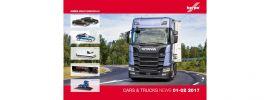 herpa 207638 Prospekt Neuheiten Cars and Trucks Januar und Februar 2017 mit Preisen online kaufen