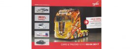 herpa 207652 Prospekt Neuheiten Cars and Trucks März April 2017 online kaufen