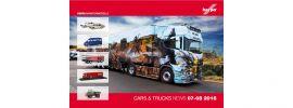 herpa 208185 Prospekt Neuheiten Cars und Trucks Juli und August  2018 online kaufen