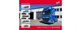 herpa 208208 Prospekt Neuheiten Cars und Trucks September und Oktober 2018 online kaufen