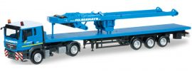 "herpa 303781 MAN TGS L FlSzg SA-Bock ""Felbermayr"" LKW-Modell 1:87 online kaufen"