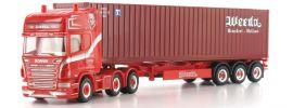 herpa 304191 Scania R 09 CoSzg Weeda/WEC LKW-Modell 1:87 online kaufen
