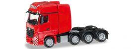 ausverkauft | herpa 304368-003 MB Actros GiSp SLT Zgm rot | LKW-Modell 1:87 online kaufen