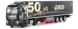 herpa 305389 MAN TGX XLX Euro6 KuehlkofferSzg 50 Jahre Röhlich LKW-Modell 1:87 online kaufen