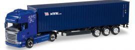 herpa 305723 Scania R 2013 TL ContainerSattelzug Jürgen Schmid Transporte LKW-Modell 1:87 online kaufen