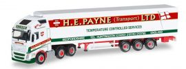 herpa 306164 Volvo FH 16 GL XL 6x2 KühlkofferSzg H.E.Payne LTD LKW-Modell 1:87 online kaufen