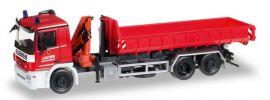 herpa 306188 Mercedes-Benz Actros M08 AbrollMuLKW Feuerwehr Aachen Blaulichtmodell 1:87 online kaufen