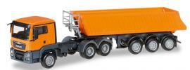herpa 306478 MAN TGS L Euro6 Kipp-Sattelzug 3achs Baufahrzeug 1:87 online kaufen