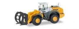 herpa 306843 Liebherr Radlader L 580 Loghandler | Baumaschinenmodell 1:87 online kaufen