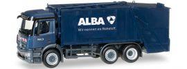 herpa 306966 MB Antos Pressmü�llwagen ALBA | LKW-Modell 1:87 online kaufen