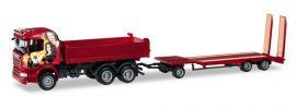 herpa 307239 Scania R 2013 Highline Hängerzug mit TU3 Heidemann LKW-Modell 1:87 online kaufen