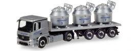 herpa 307246 MB Actros Aluminiumtiegel Szg Nicromet | LKW-Modell 1:87 online kaufen