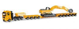 herpa 307277 MAN TGX XXL 640 Tiefladesattelzug mit Liebherr 954 Max Bögl LKW-Modell 1:87 online kaufen