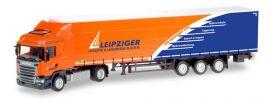 herpa 307444 Scania R Highline Gardinenplanenzug Leipziger Logistik LKW-Modell 1:87 online kaufen