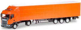 herpa 307451 Scania R Highline Gardinenplanensattelzug unbedruckt LKW-Modell 1:87 online kaufen