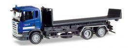 herpa 307505 Scania R 2004 Abrollflat-LKW THW Elmshorn Blaulichtmodell 1:87 online kaufen