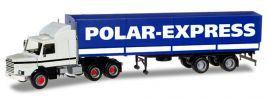herpa 307512 Scania 142 Hauber 6x4 Planensattelzug POLAR-EXPRESS LKW-Modell 1:87 online kaufen