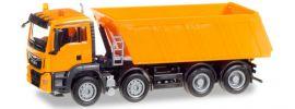 herpa 307727 MAN TGS M Euro6 Muldenkipper 4achs orange LKW-Modell 1:87 online kaufen