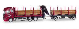 herpa 307840 Scania R 2013 Highline Holztransport-Hängerzug Ziefle Spedition LKW-Modell 1:87 online kaufen