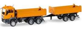 herpa 308090 MAN TGS M Baukipper Hängerzug | LKW-Modell 1:87 online kaufen