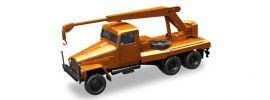 herpa 308113 IFA G5 Kranfahrzeug 3achsig orange  LKW-Modell 1:87 online kaufen