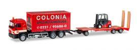herpa 308182 MAN F90 LKW mit TU3  und Gabelstapler Colonia LKW-Modell 1:87 online kaufen