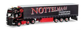 herpa 308496 Scania R04 TL 6x2 Gardinenplanensattelzug Nottelmann LKW-Modell 1:87 online kaufen