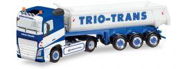 herpa 308533 Volvo FH Rundmulden Szg Trio Trans | LKW-Modell 1:87 online kaufen