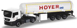 herpa 308618 MAN TGS L Euro6c  Benzintanksattelzug Hoyer LNG LKW-Modell 1:87 online kaufen