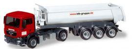 herpa 308847 MAN TGS M Rundmuldensattelzug BTB Berlin LKW-Modell 1:87 online kaufen