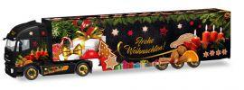 herpa 308960 Iveco Stralis XP Koffersattelzug  Weihnachtstruck 2018 LKW-Modell 1:87 online kaufen